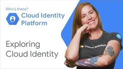 Exploring Cloud Identity