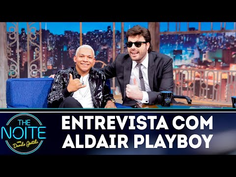 Entrevista com Aldair Playboy  The noite 141118