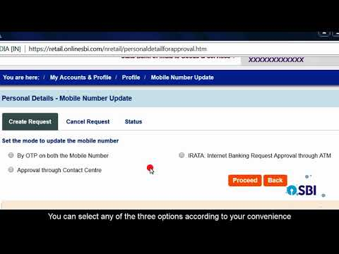 SBI RINB – How To Change Mobile Number Online Without Visiting Branch