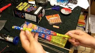 novelty mini fireworks