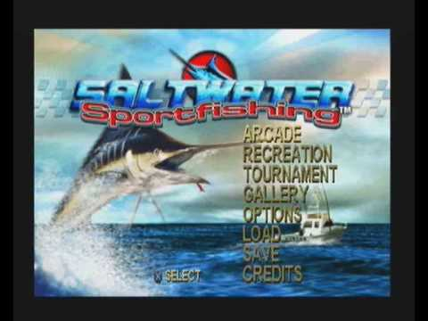 Saltwater sport fishing intro playstation pal version for Ps3 fishing games