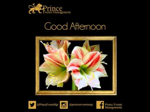 Good afternoon flower (1) May.2015