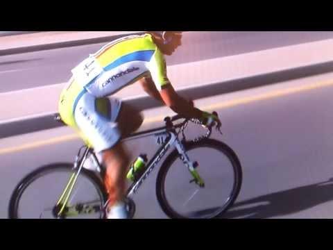 Peter Sagan bunny hop skills Tour of Oman stage 4