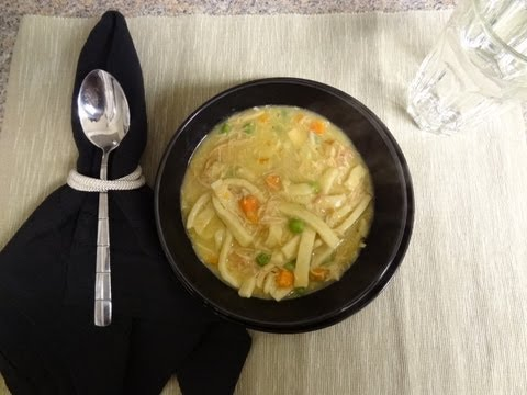 How To Make Turkey Noodle Soup