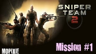 New Sniper Shooting Games - Sniper Team 2 Missions 1