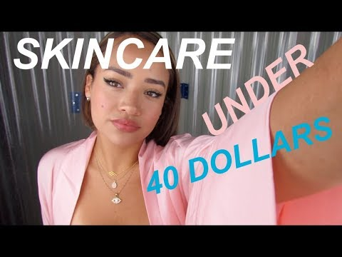 Skincare under 40 dollars thumbnail