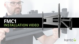 FMC1 Corner TV Mount Installation Guide | Kanto Mounts