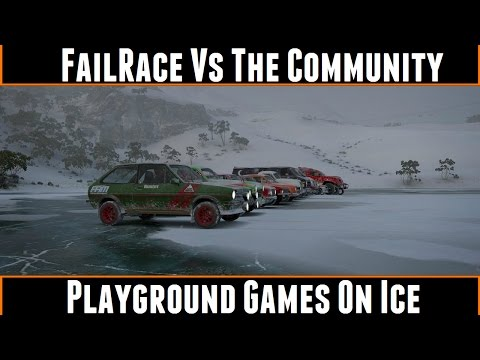 FailRace Vs The Community Playground Games On Ice