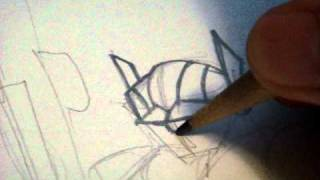 How to draw ROTF OPTIMUS PRIME Transformers Animated style part 1