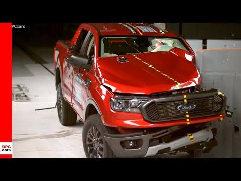 2019 Ford Ranger Truck Crash Test & Rating