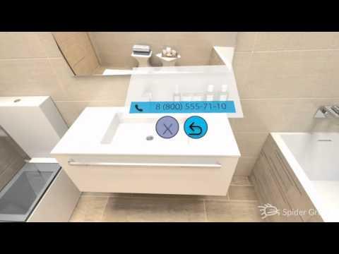 Виртуальная реальность для сети салонов керамики «Кайрос»