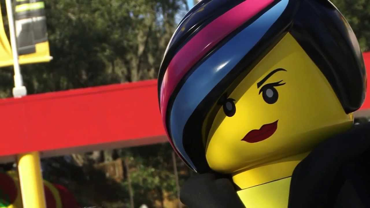 Legoland Florida Emmet And Wyldstyle From Quot The Lego Movie