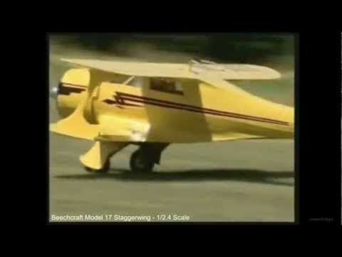 Giant RC Beechcraft Model 17 Staggerwing