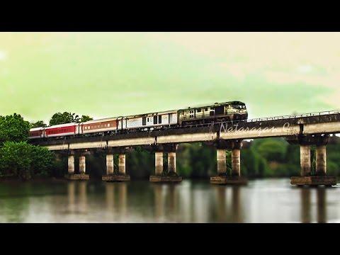Thundering Trains through KONKAN RAILWAYS ( Indian Railways )