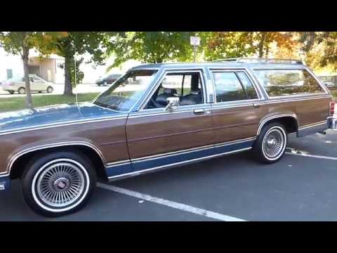 1987       Mercury       Grand       Marquis    LS Colony Park  YouTube