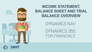 Income Statement, Balance Sheet and Trial Balance Overview in Dynamics NAV