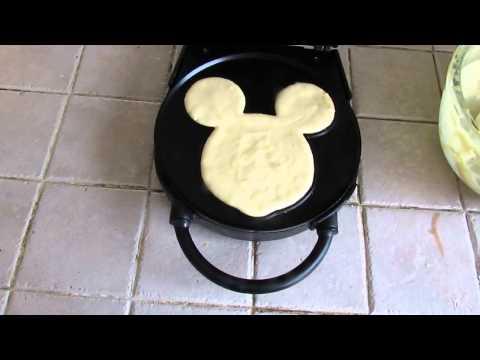 wafflera de Mickey Mouse funciona?