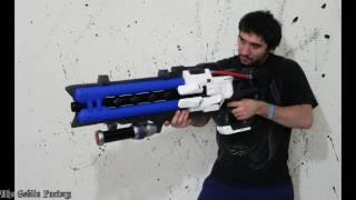 soldier 76 heavy pulse rifle overwatch cosplay prop