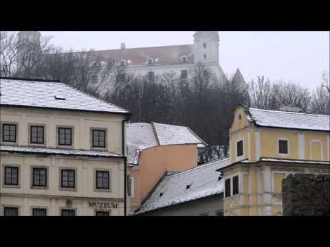 Bratislavské  staré mesto . HD