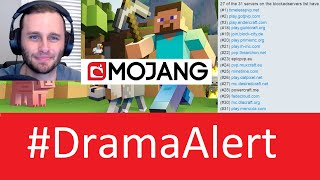 Minecraft Server BLACKLIST! #DramaAlert SSundee - MrCrainer - Mojang EULA Enforcement