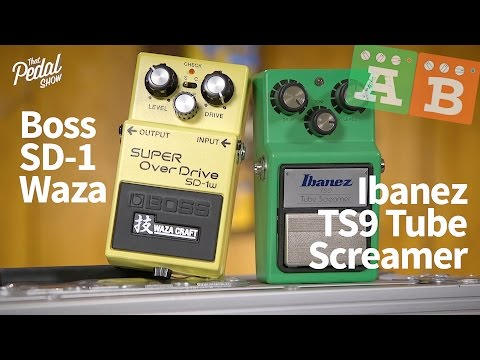 Ibanez TS9 Tube Screamer Pedal - Andertons Music Co