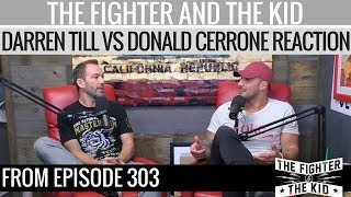 The Fighter and The Kid - Darren Till vs Donald Cerrone Reaction