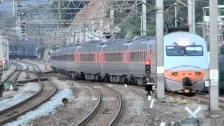 [HD] The Taiwan TRA down Tzu-Chiang Limited Express E1000 Train No. 177 at Qidu Station