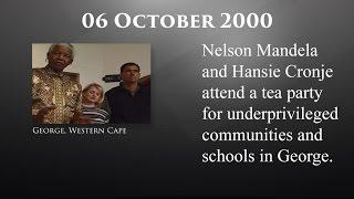 The Mandela Diaries: 06 October 2000