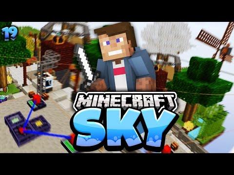 ICH MACHE IZZI EIN GESCHENK   Minecraft SKY #19   Dner