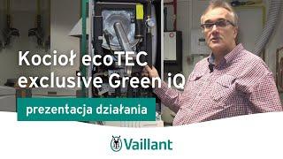 Kocioł kondensacyjny ecoTEC exclusive Green iQ- Vaillant Polska