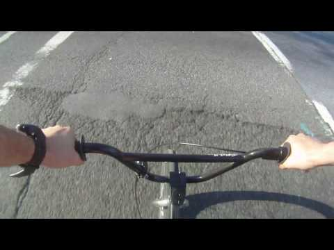 BMX Bike Vlog Typical Commute in DC