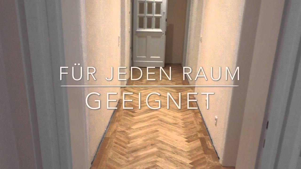 Hervorragend Fischgrät-Parkettverlegung in Münster - YouTube TD14