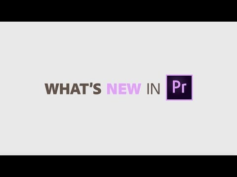 What's New In Premiere Pro April 2019 | Adobe Creative Cloud