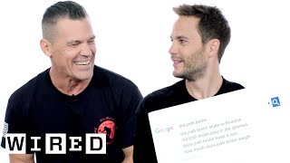 Josh Brolin & Taylor Kitsch Answer the Web