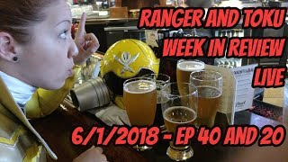 RWIR and TWIR LIVE! | EP 40 + 20 | MORE POWER RANGERS MOVIES ON THE WAY |  TONS OF TOKU TOYS