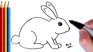 How to Draw Rabbit (easy) - Step by Step Tutorial