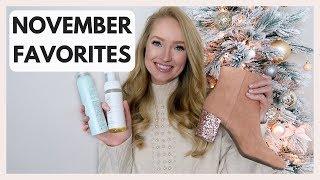 HUGE NOVEMBER FAVORITES | Best fashion and beauty from November | Amanda John