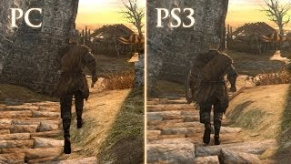 Dark Souls 2: PS3 vs. PC Graphics Comparison