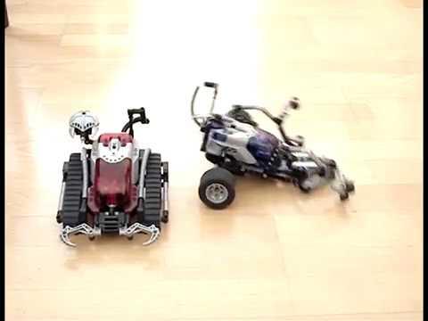 Spybotics Lego MINDSTORMS * Shadowstrike VS. Snaptrax *