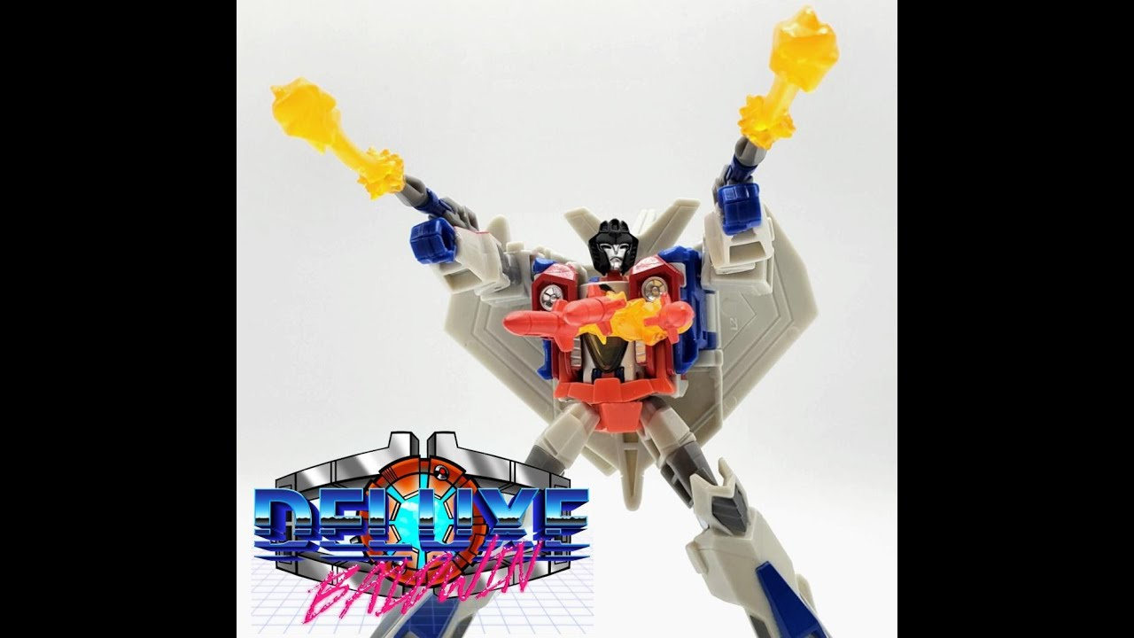 Bumblebee Adventures Cyberverse Starscream Review by Deluxe Baldwin