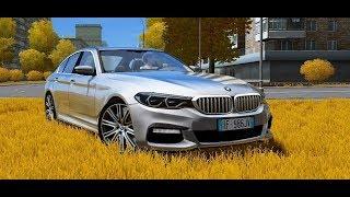 City Car Driving 1.5.5 - BMW 540i G30 2018   Custom SOUND   1080p & G27