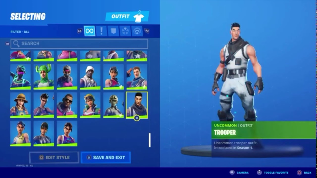 Selling Fortnite account for pc and xbox - YouTube