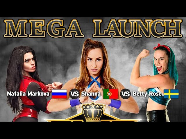 Natalia Markova (RU) vs Shanna (PT) vs Betty Rose (SE) - SLAM! Wrestling Finland Mega Launch (2019)