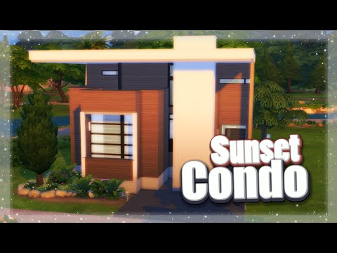 The Sims 4: Speed Build / Sunset Condo