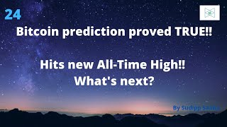 Astrological Prediction on Bitcoin came true! Hits new All-Time High! What's next?
