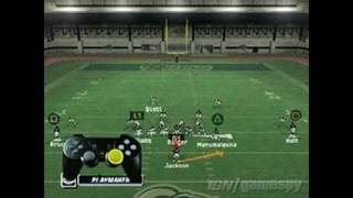 Madden NFL 06 PlayStation 2 Gameplay - Offense Tutorial