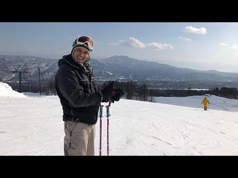 Ski Greeting from Akakura Myoko Kogen Slopes (Niigata / Nagano)