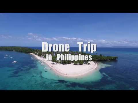 Drone Trip in Philippines / フィリピン・セブ島周辺の離島をドローン旅