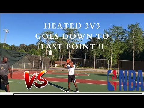 HEATED 3V3 BETWEEN OLD HEADS GO DOWN TO THE LAST POINT!!