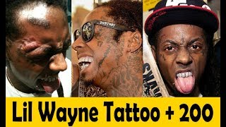 Lil Wayne Tattoos Celebrity Tattoos Their Meanings 2018 Tha Carter V Youtube